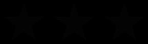 Afbeeldingsresultaat voor three black stars